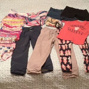 Other - 29pc girls size 4T/4 socks, pants,shorts,undies